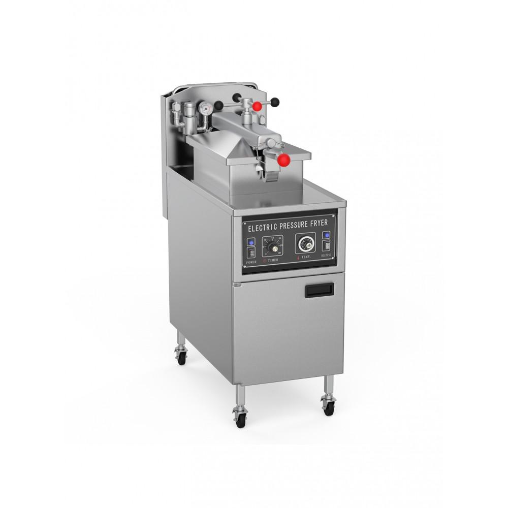 Hoge Druk Friteuse 24 Liter - 400 V - High Pressure - Manueel - Promoline