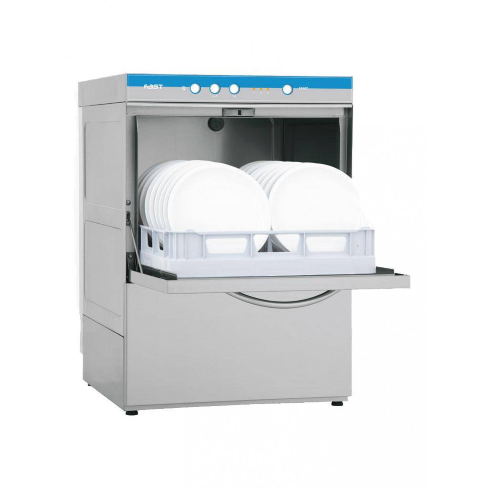 Vaatwasmachine - H 82 x 57.5 x 60 CM - 58 KG - 220 - 240 V - 3500 W - RVS - Elettrobar - 570055
