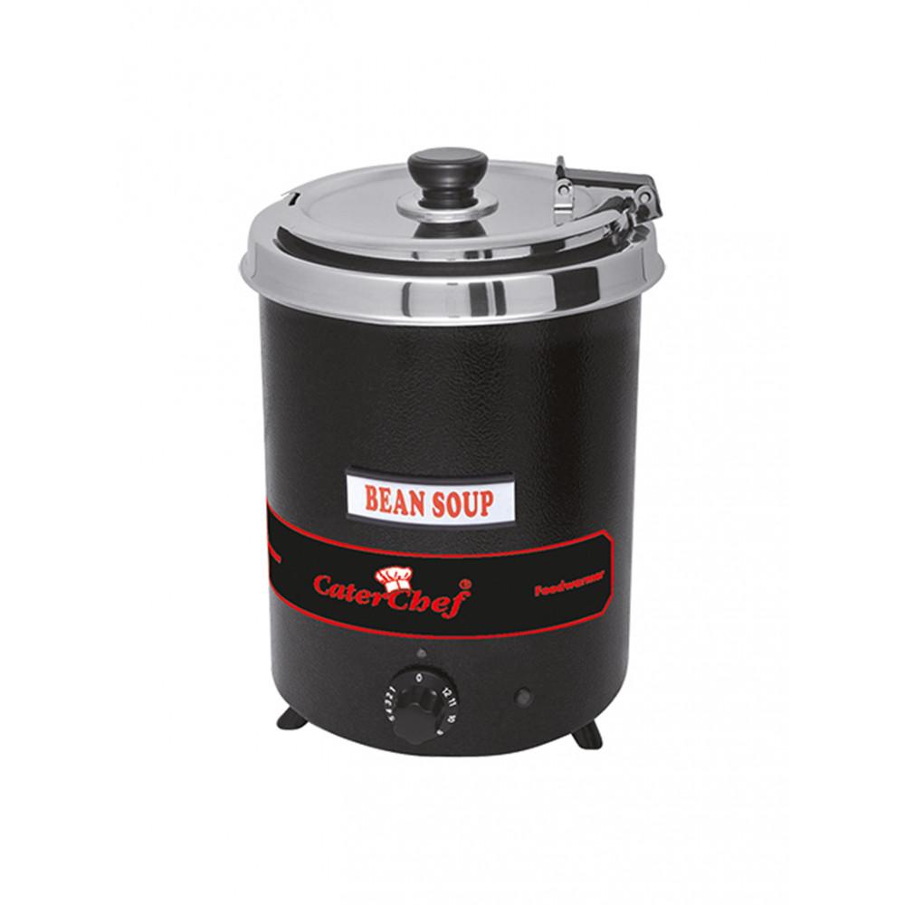 Soepketel - H 35.2 CM - 3.34 KG - Ø28.5 CM - 220 - 240 V - 300 W - Metaal - 5.7 Liter - Scharnierend Deksel - Caterchef