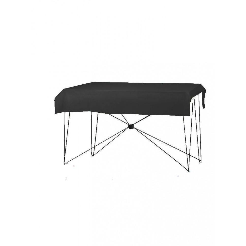 Tafelkleed - 190x130cm - Zwart - Dena