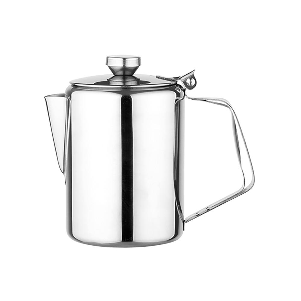 Koffiepot - H 13 CM - 0.2 KG - Ø9 CM - RVS - 0.6 Liter - 861008