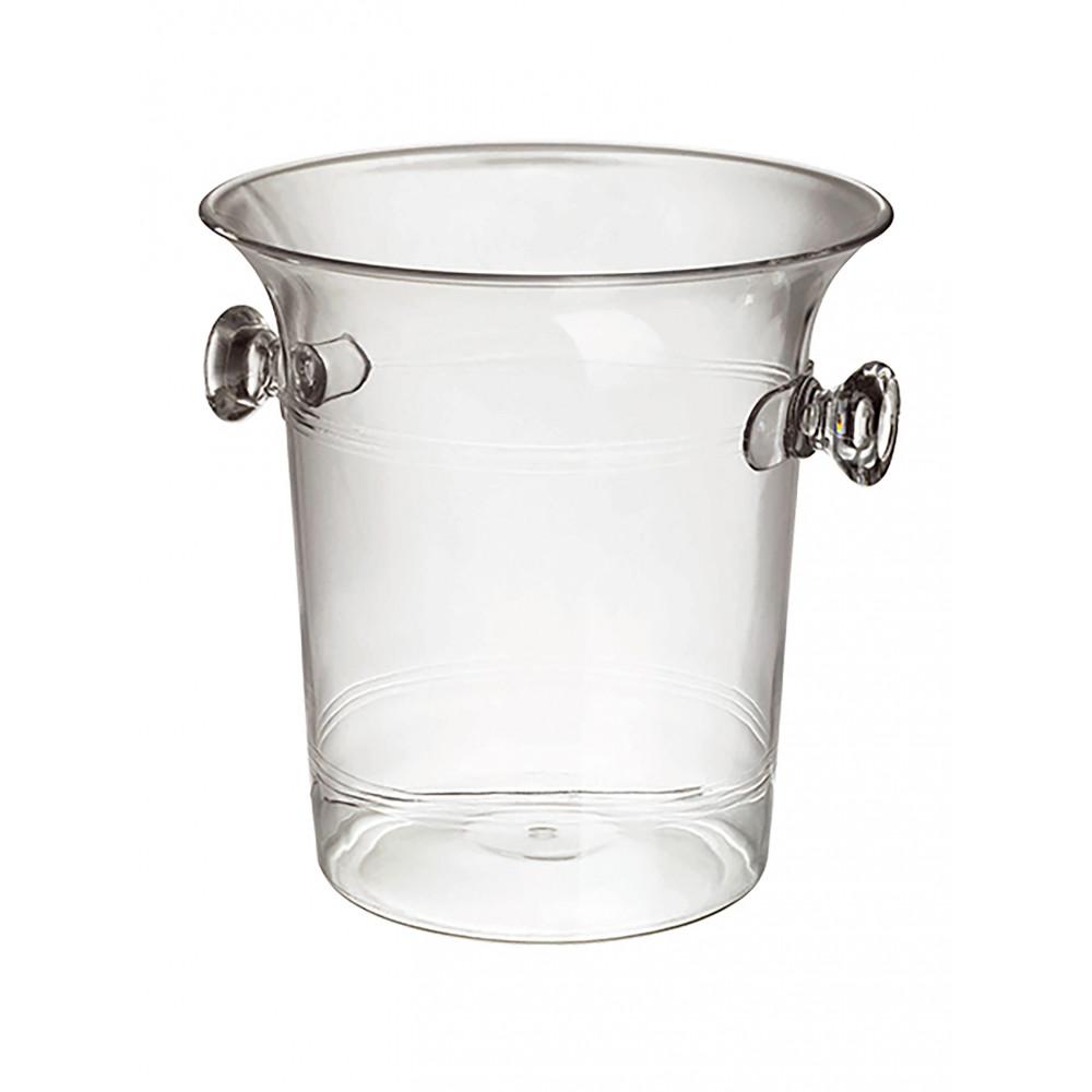Wijnkoeler - H 20.8 x 21.7 x 20.7 CM - 0.1 KG - Transparant - 14 Liter - 144051