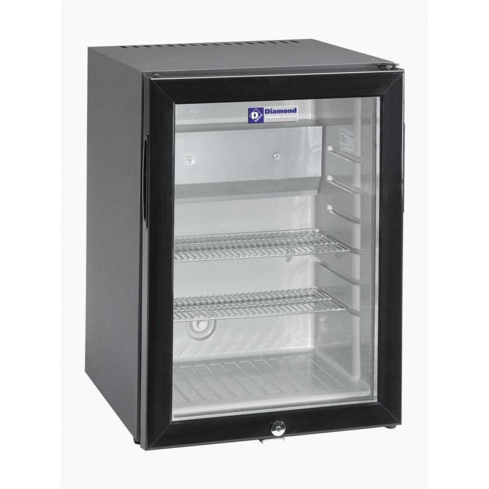 Mini bar - 42 liter - Zwart - C420S/VT - Diamond