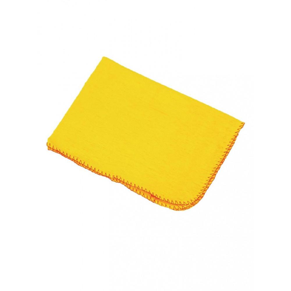 Stofdoeken geel - 10 stuks - E943 - Jantex