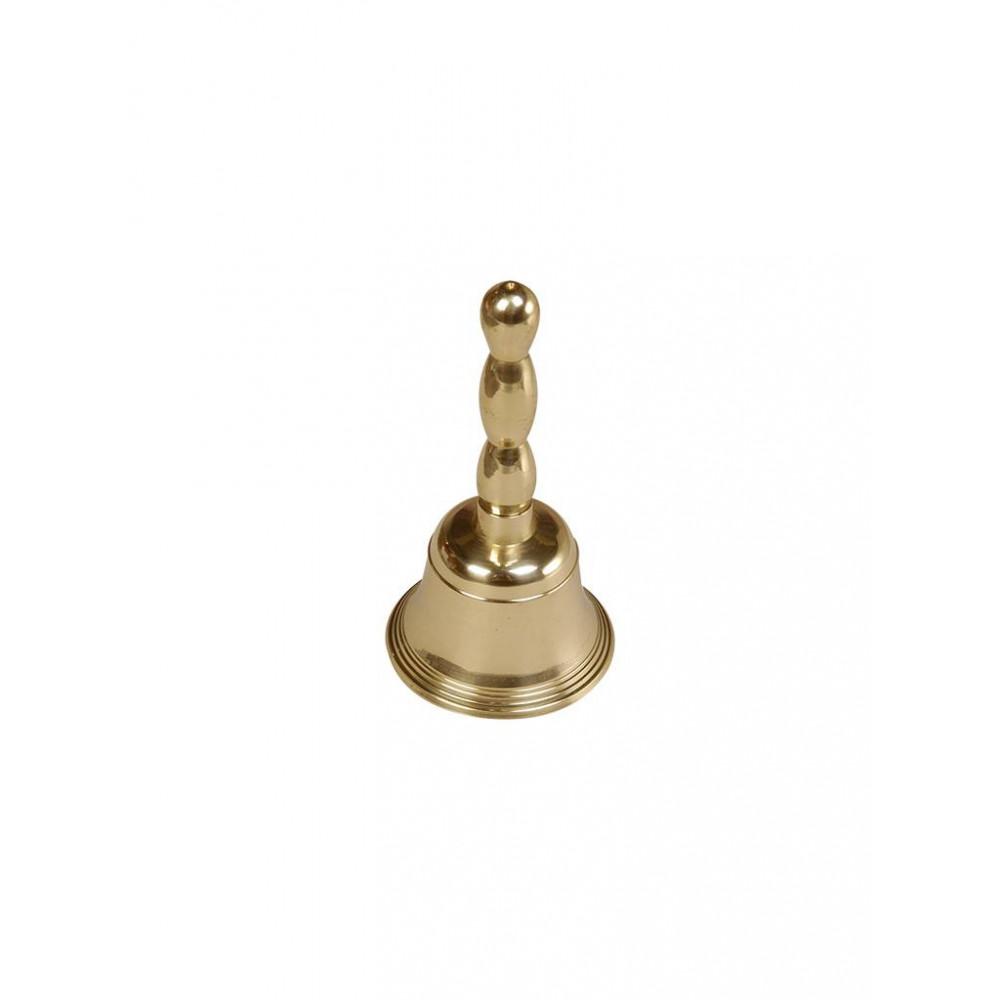 Bel (Tafel) - H 12 CM - 0.1 KG - Ø6 CM - Messing - 125005