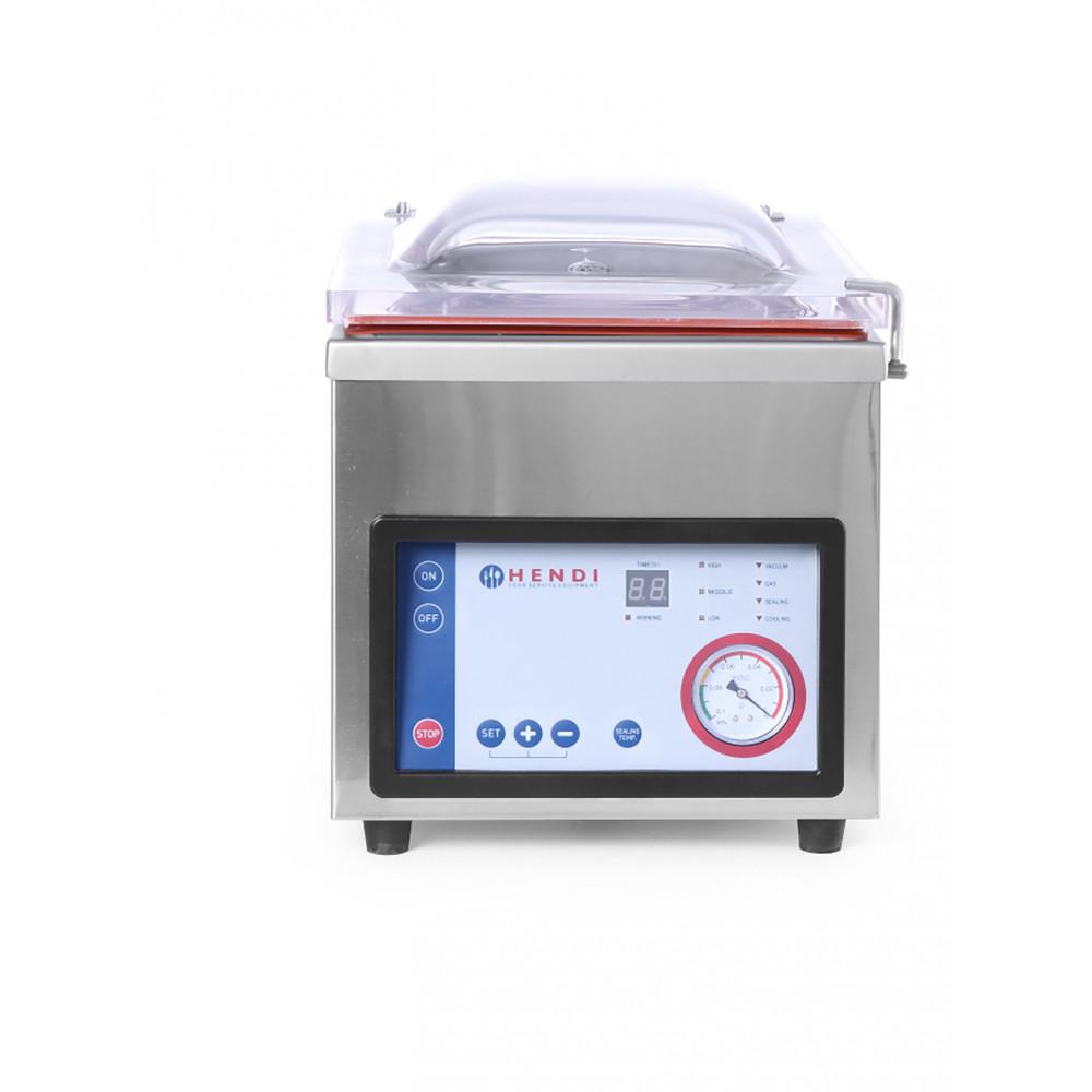Vacuumkamer verpakkingsmachine Profi Line verpakkingsmachine - RVS - H 46 X 56 X 42.5 CM - Hendi - 975275