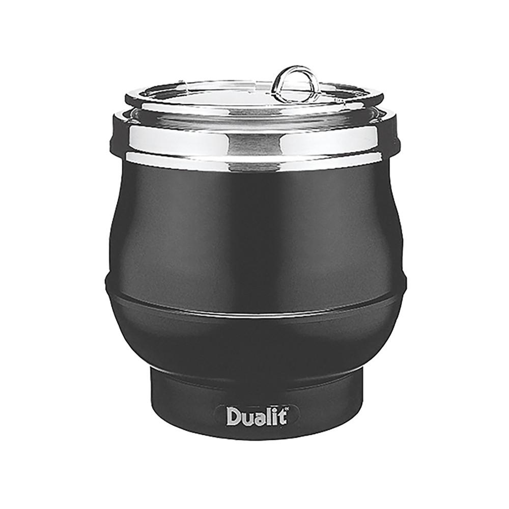 Soepketel - H 38 CM - 8 KG - Ø34 CM - 220 - 240 V - 850 W - Aluminium - 11 Liter - Scharnierend Deksel - Dualit - 310008