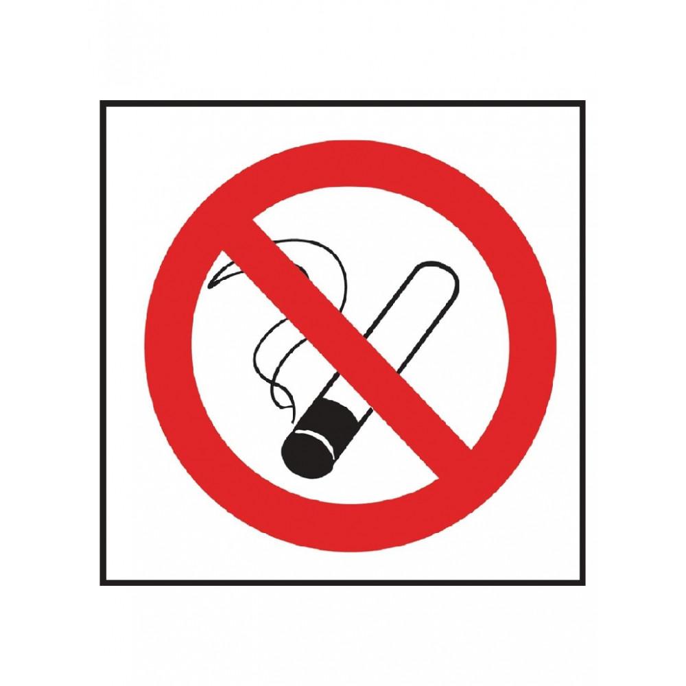 """Verboden te roken"" sticker - Jantex - L964"