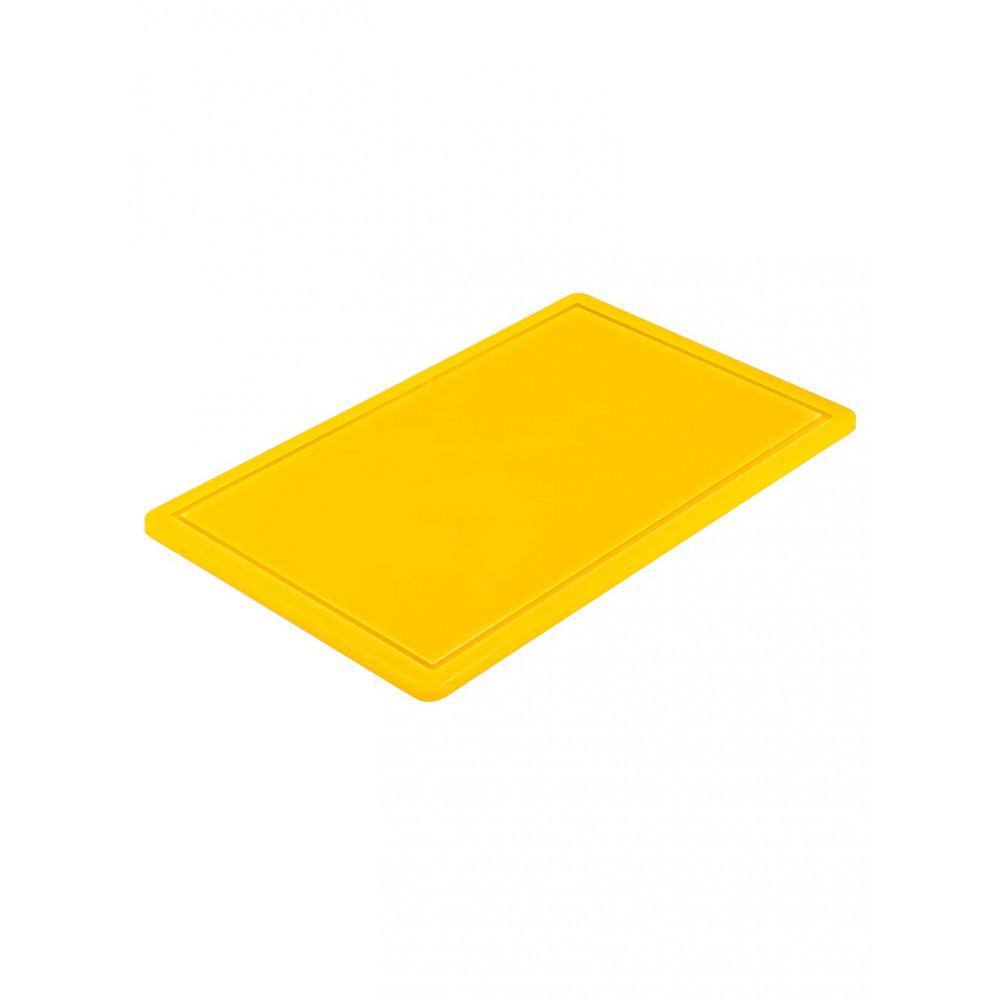 Snijplank - 1/1 GN - HACCP - Geel - Promoline