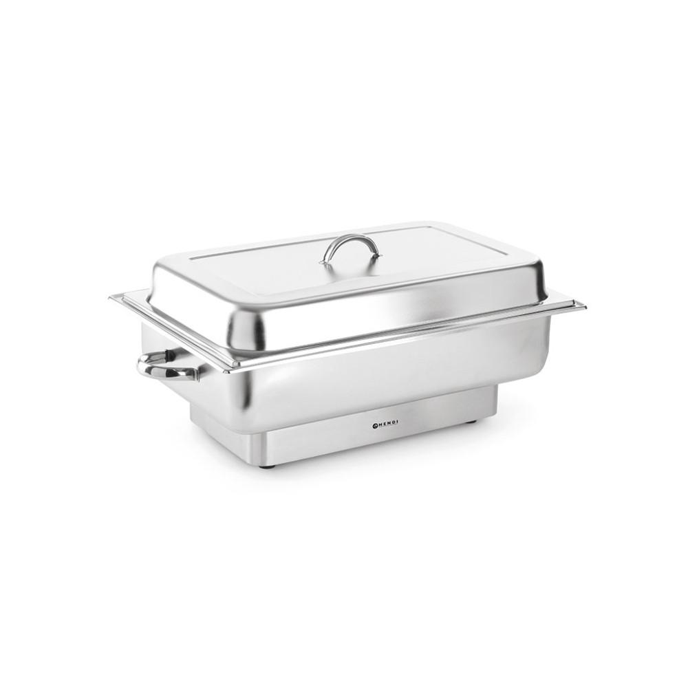Chafing dish - Elektrisch - Pollina - 9 liter - RVS - Hendi - 204900