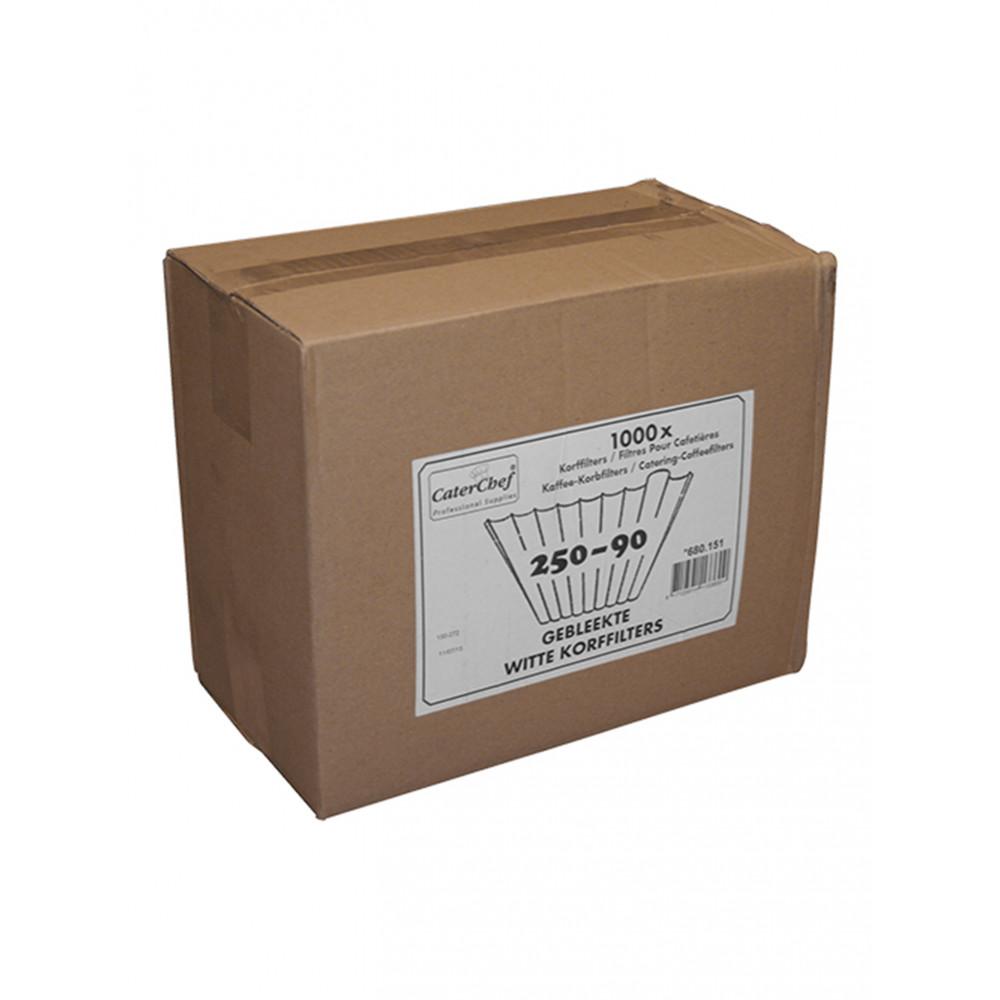 Koffilters - Gebleekt - CaterChef - 680151