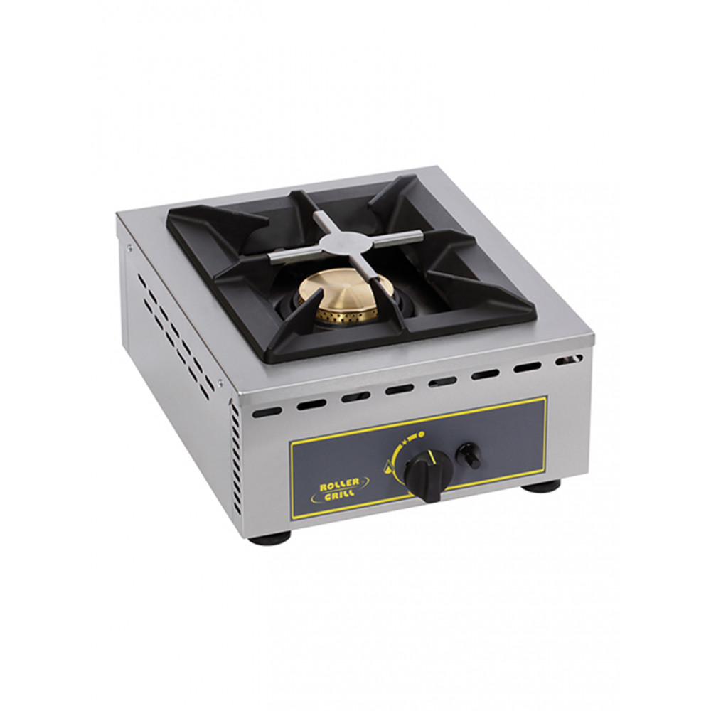 Kooktoestel - H 19.5 x 37 x 51 CM - 12 KG - Propaangas - 7 CM - RVS - Gas - Roller Grill - 304150