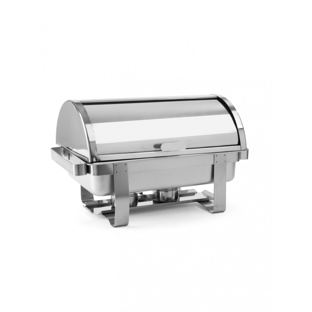 Chafing dish - 1/1 GN - RVS - Incl. Roldeksel - Promoline