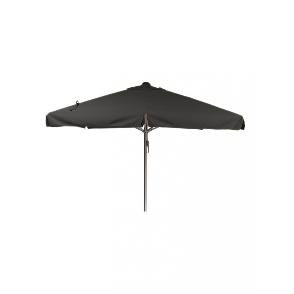 Horeca parasol - 400x400 cm - Zwart - Karin