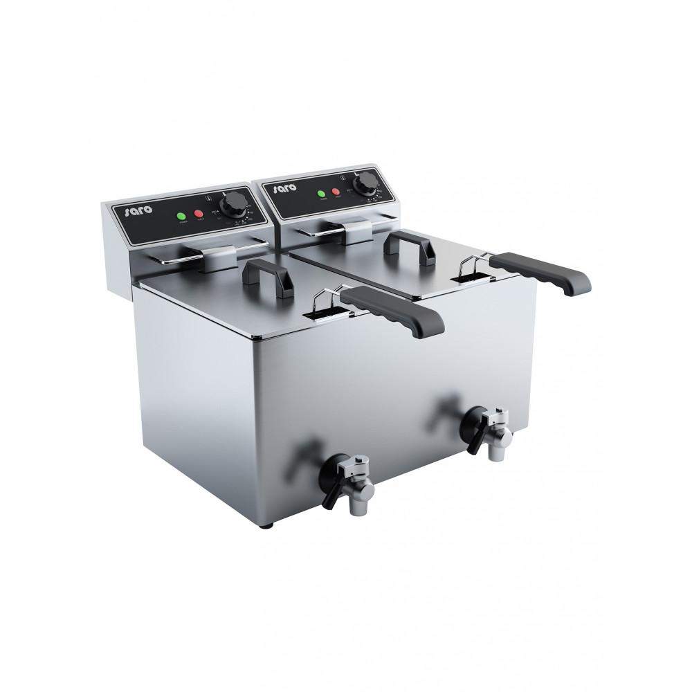 Friteuse - 2 x 8 Liter - Saro - 443-6015