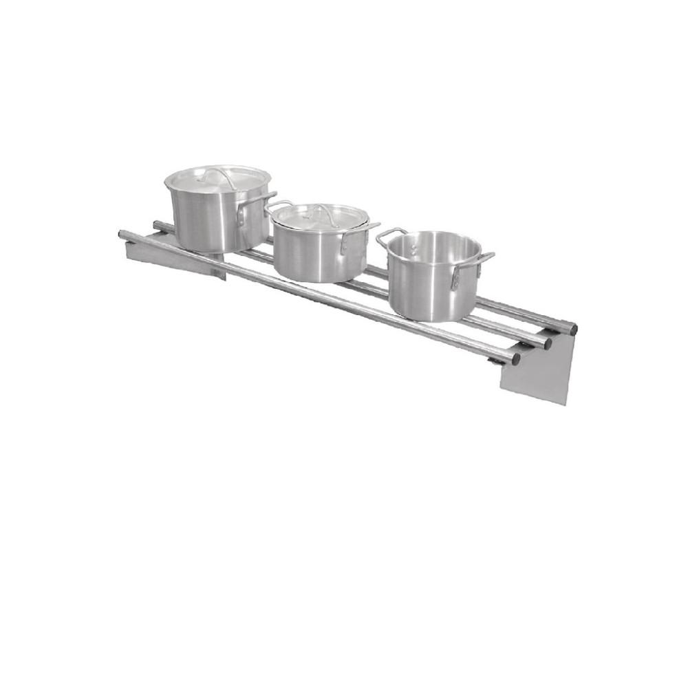 RVS wandplank 120cm - CD551 - Vogue