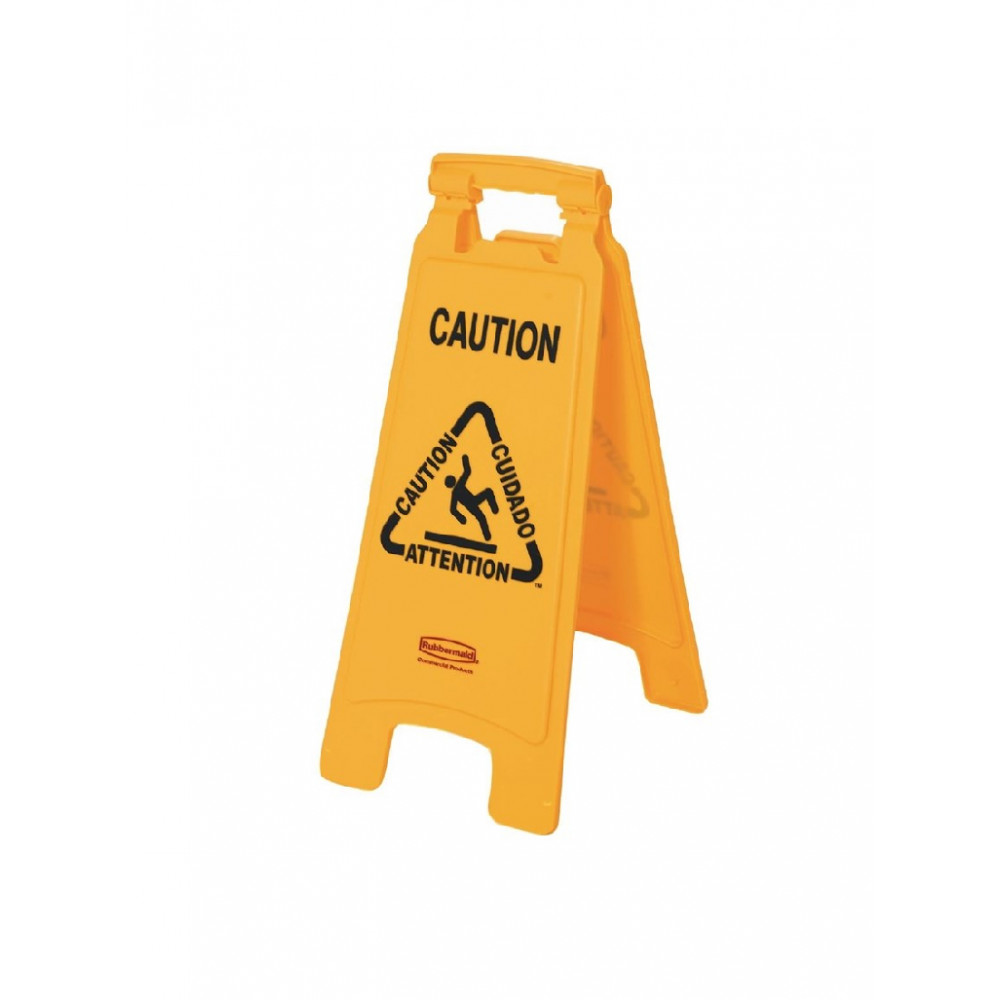 Meertalig waarschuwingsbord - Rubbermaid - GG991