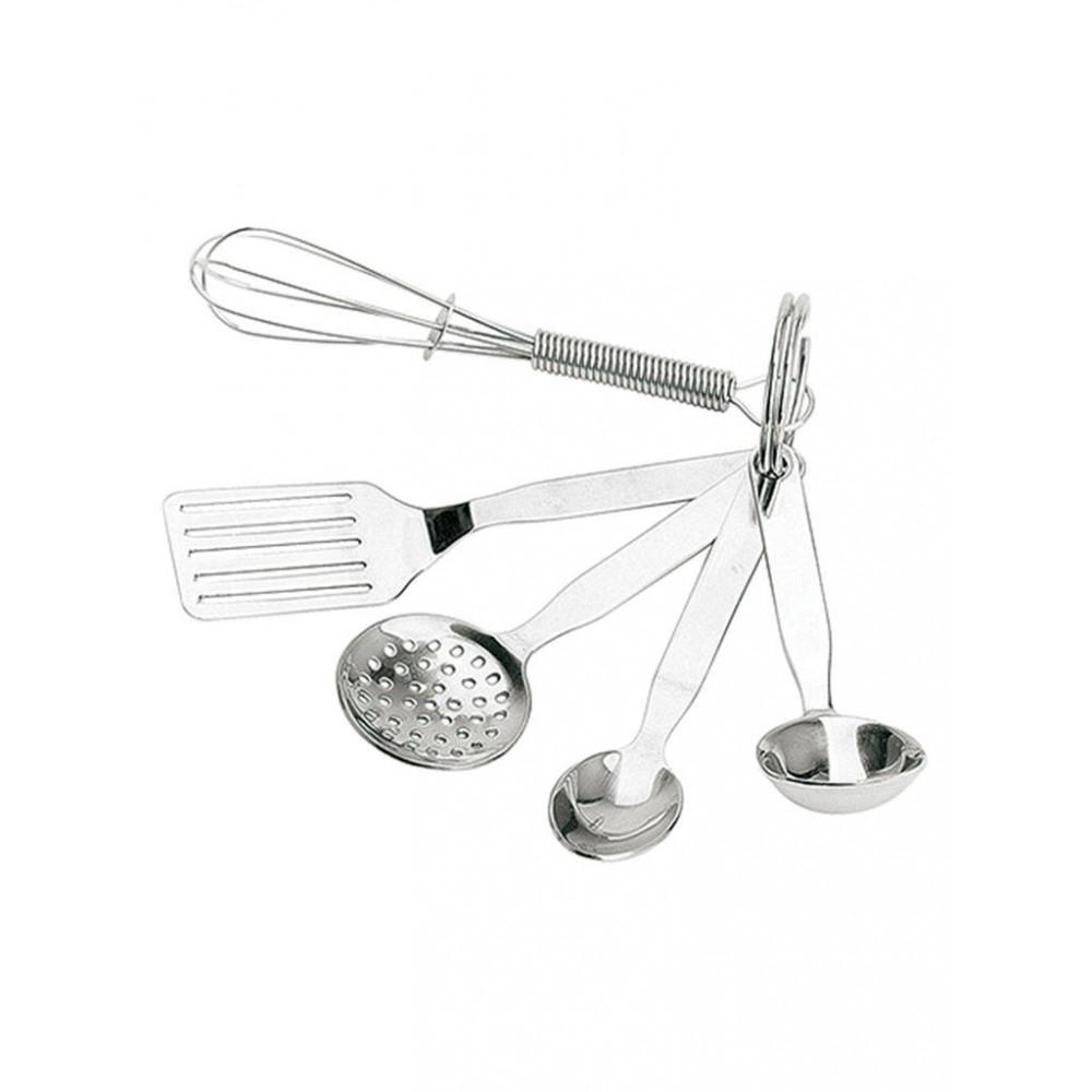 Sleutelhanger Set - 0.033 KG - RVS - 140045