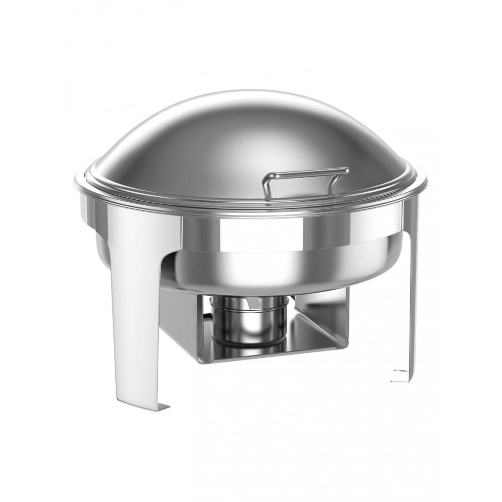 Chafing dish - RVS - 6 Liter - Rond - Promoline