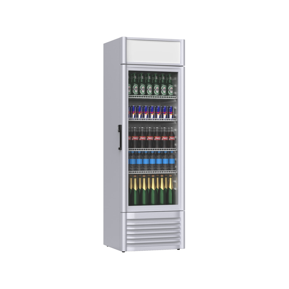 Promoline - 420 liter - 1 deurs - 02484 | Koelkast glazen deur