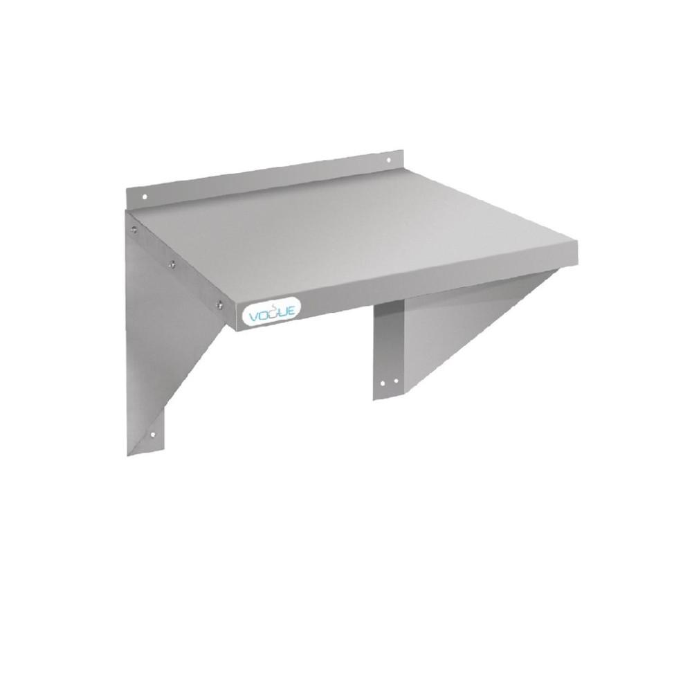 RVS oven/magnetron wandplank 56x56cm - CB912 - Vogue