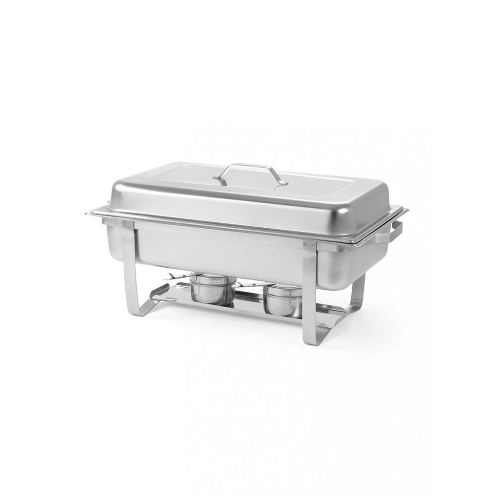 Chafing dish - 1/1 GN - Economic - 9 liter - RVS - Hendi - 475904