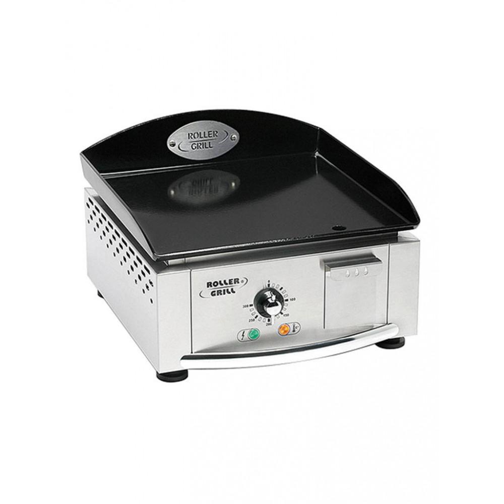 Bakplaat - H 28 x 40 x 43 CM - 15 KG - 220 - 240 V - 3000 W - RVS - Glad - +0°C / +300°C - Roller Grill - 304140