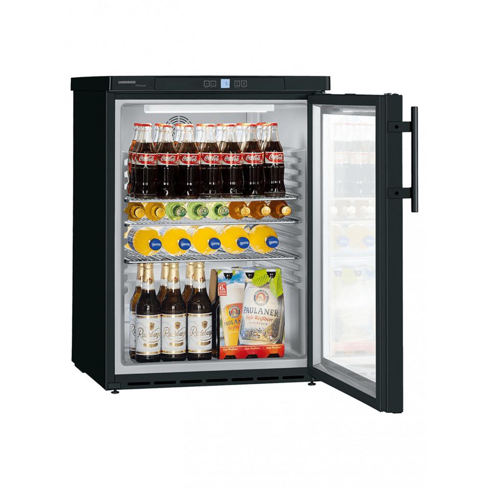 Koelkast tafelmodel - Zwart - 130 Liter - 1 Deurs - Liebherr - FKUv1613-22/744