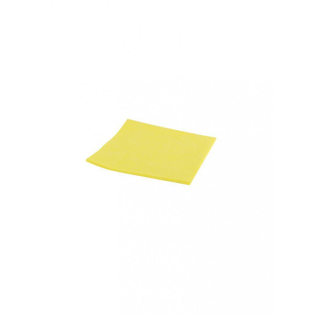 Reinigingsdoek - Viscose - 38 cm - Geel - 102099