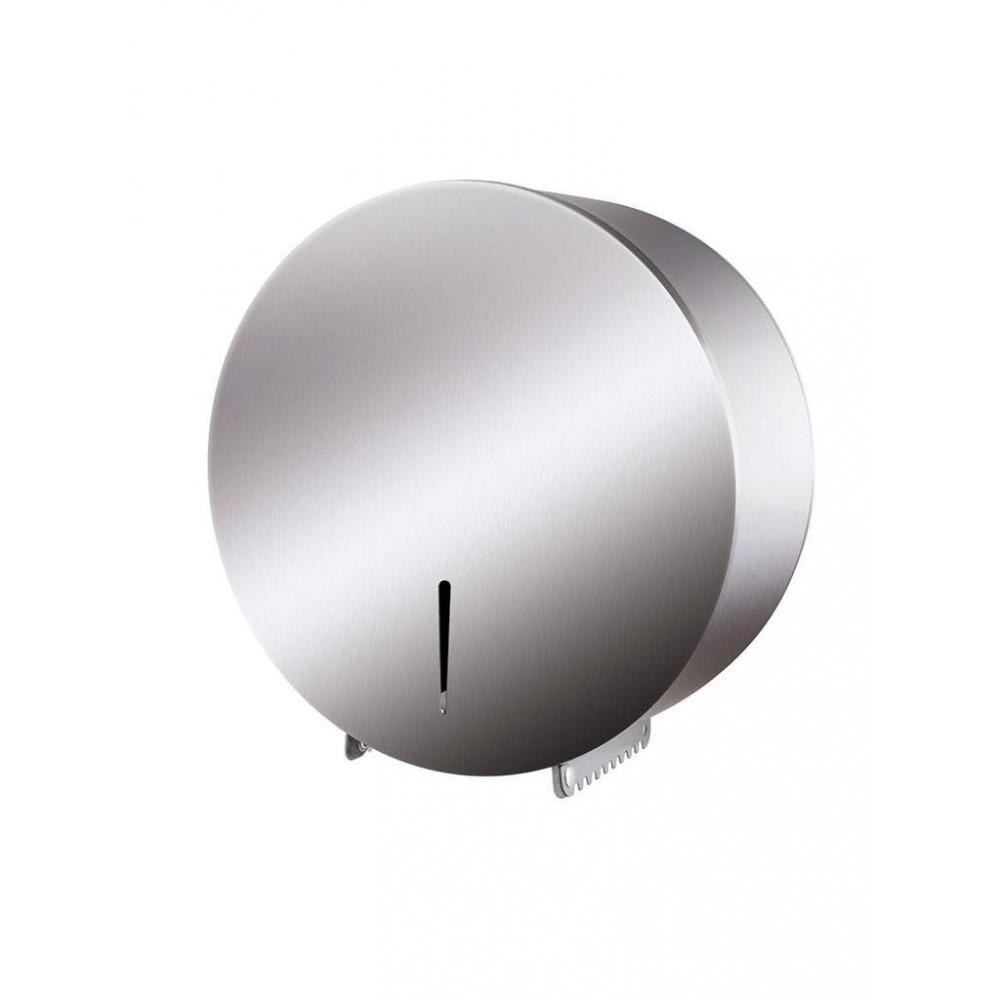 Jumbo toiletroldispenser - RVS - Promoline
