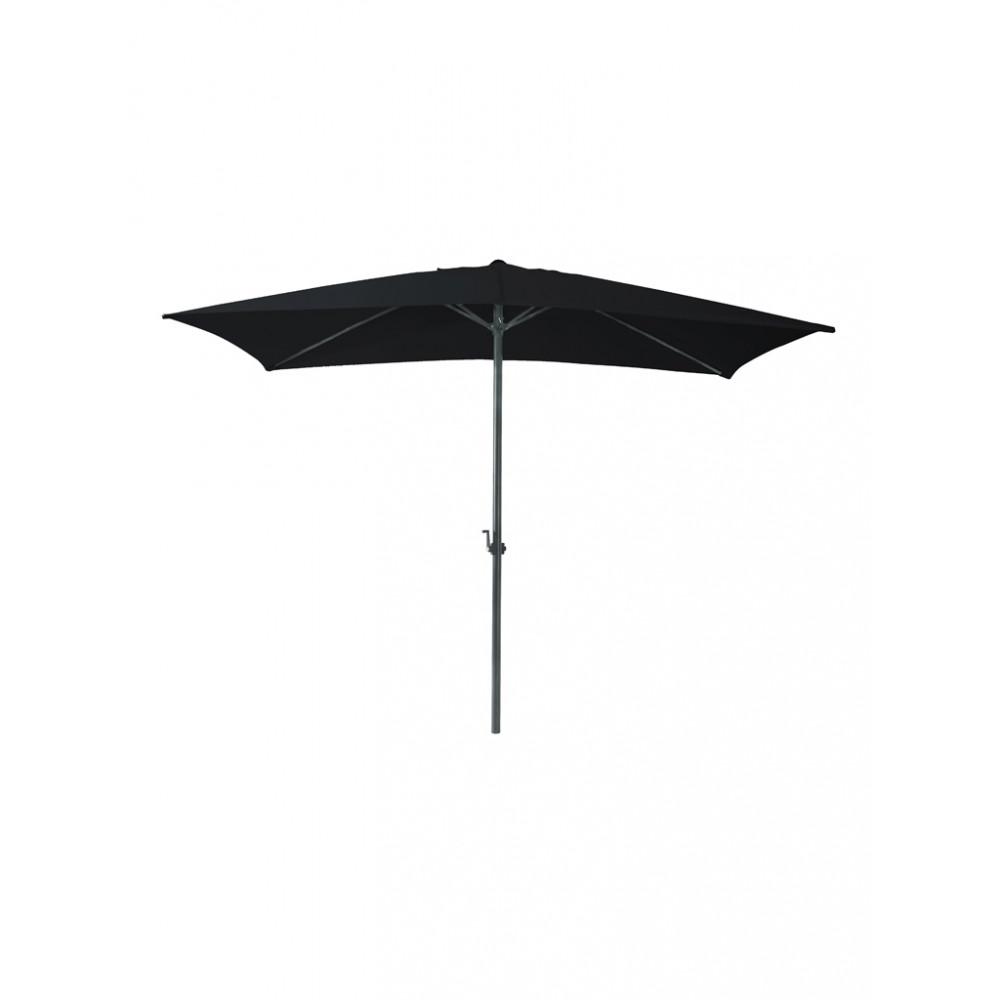 Parasol Mambo vierkant - 300x300 cm - Zwart