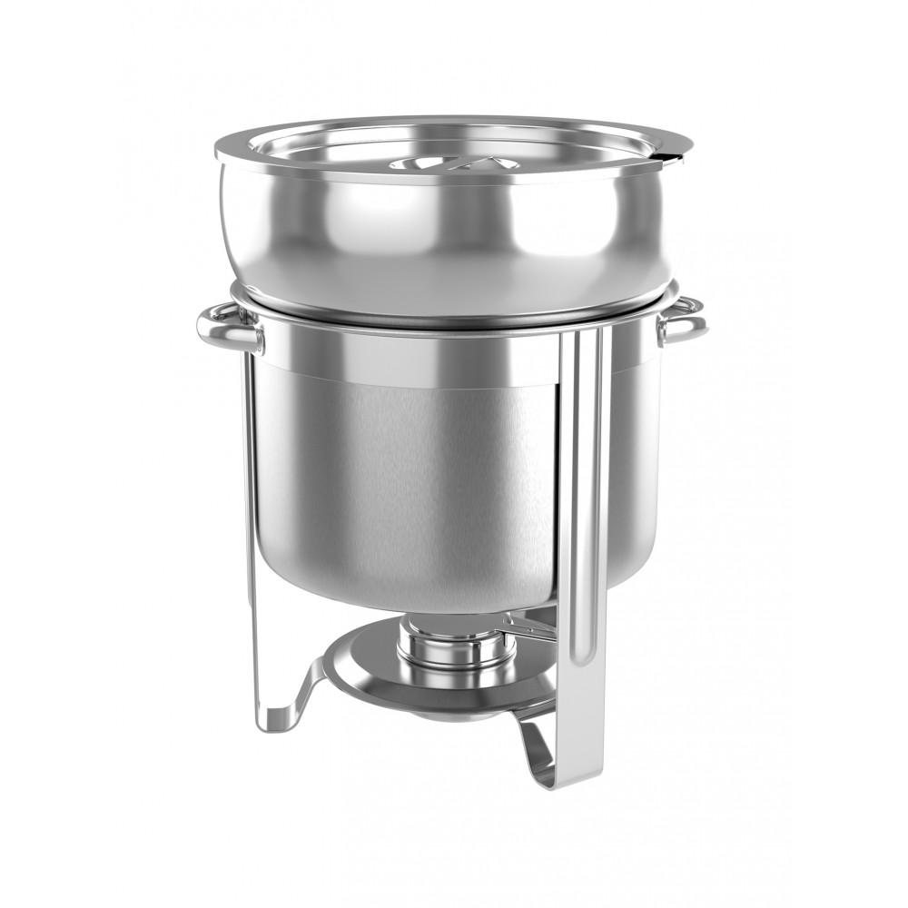 Chafing dish - Rond - T.b.v. soep - 7 Liter - Promoline