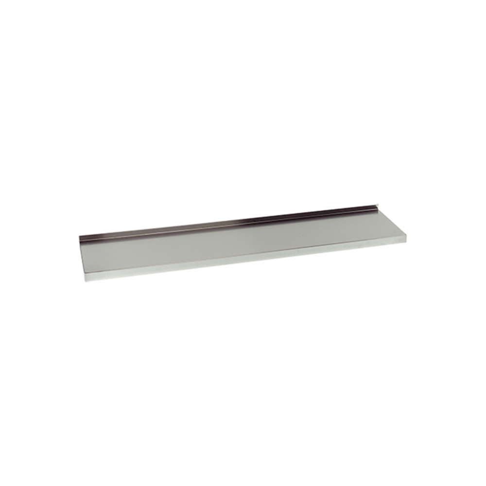 Wandplank - 160 cm - RVS - Multinox - 317083