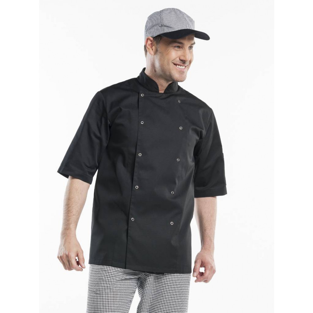 Chaud Devant - Hilton Poco Black Short Sleeve - Koksbuis