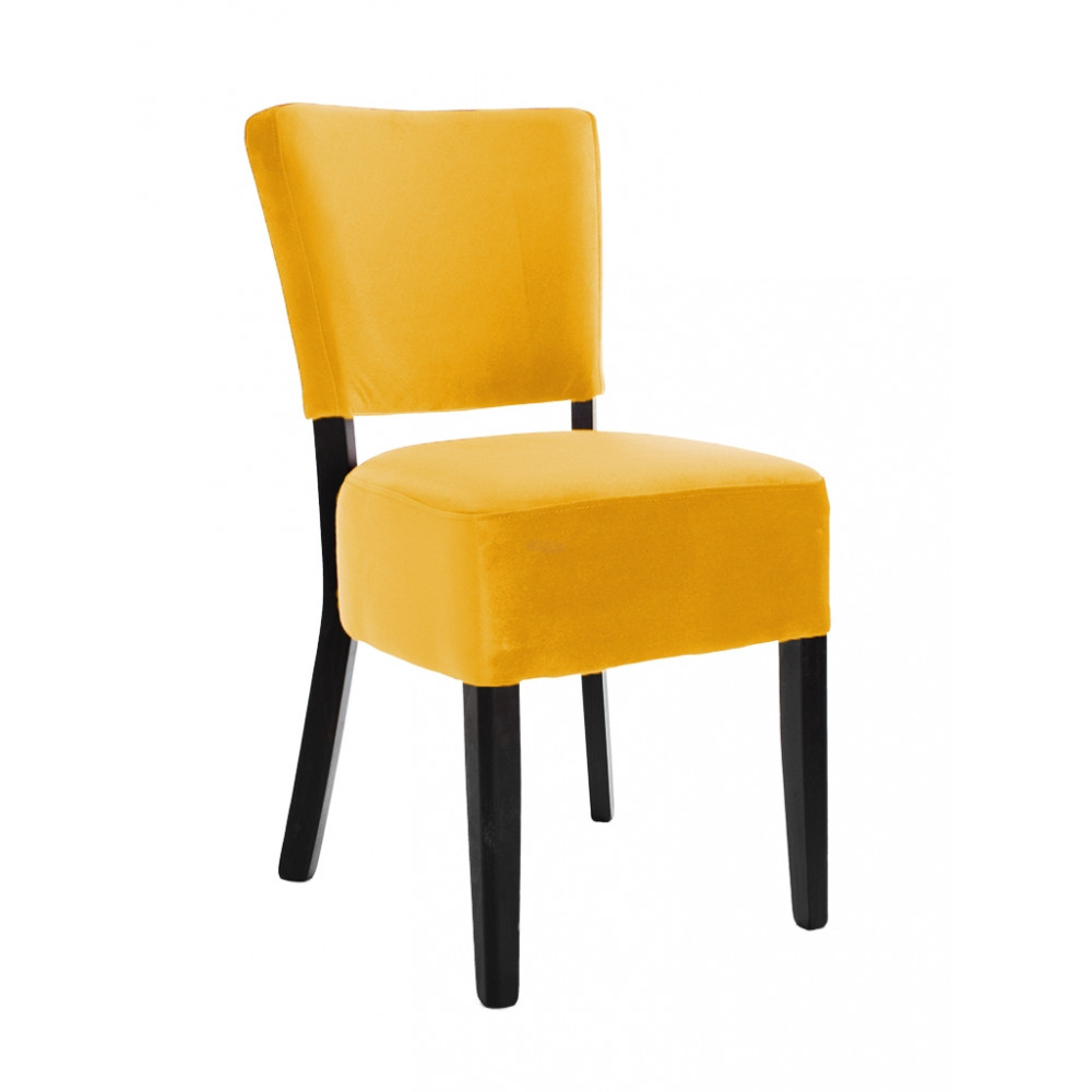 Horeca stoel - Rome - Velvet - Oranje