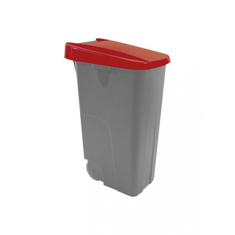 Afvalcontainer - 110 L - Rood - 600093