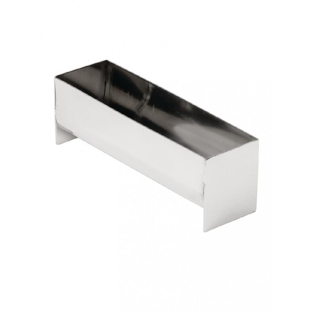 RVS paté- en terrinevorm U-vorm 13,5cm - E589 - Vogue