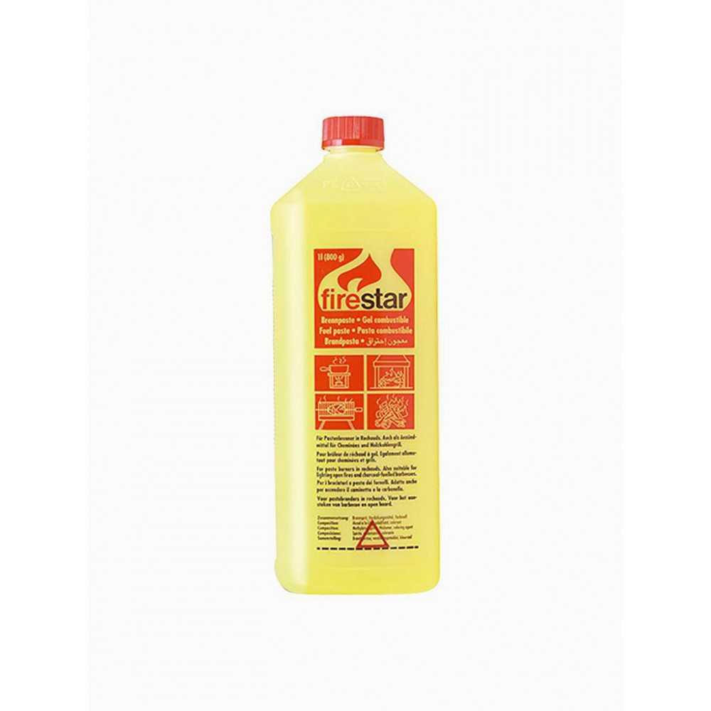 Brandpasta - Fles - 1 liter - Fire Star - 46006