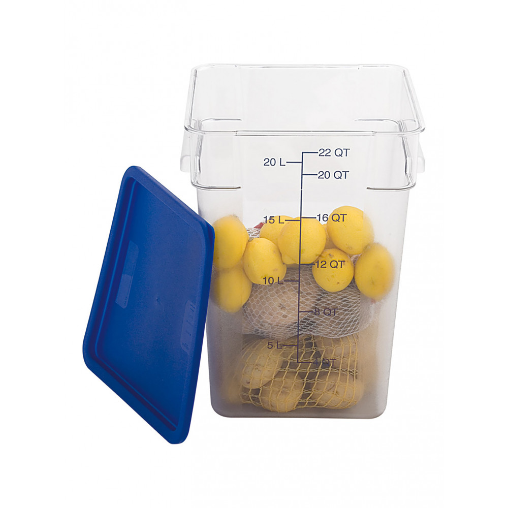 Voedselcontainer - Poly - Maatverdeling - H 40 x 30 x 30 CM - 20.8 Liter - Promoline
