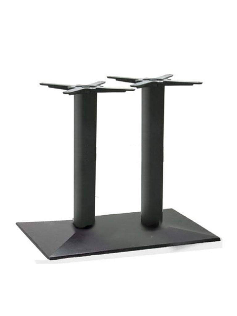 Tafelonderstel / Tafelpoot - Dubbel - Zwart - Promoline