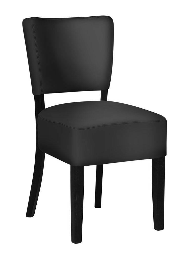 Horeca stoel - Rome - Zwart - Promoline
