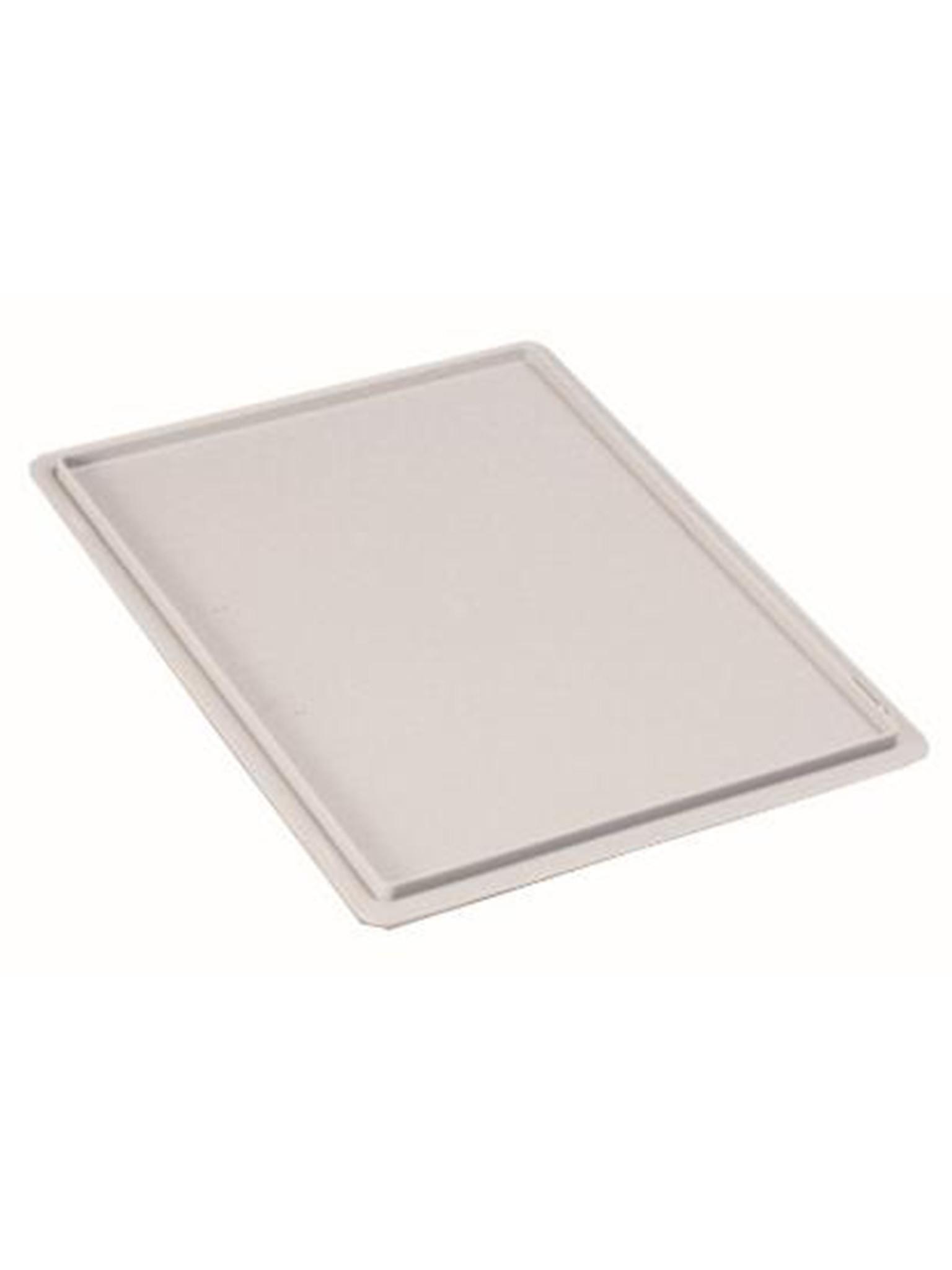 Deksel voor pizzabollenbak - 60 x 40 CM - Wit - Promoline