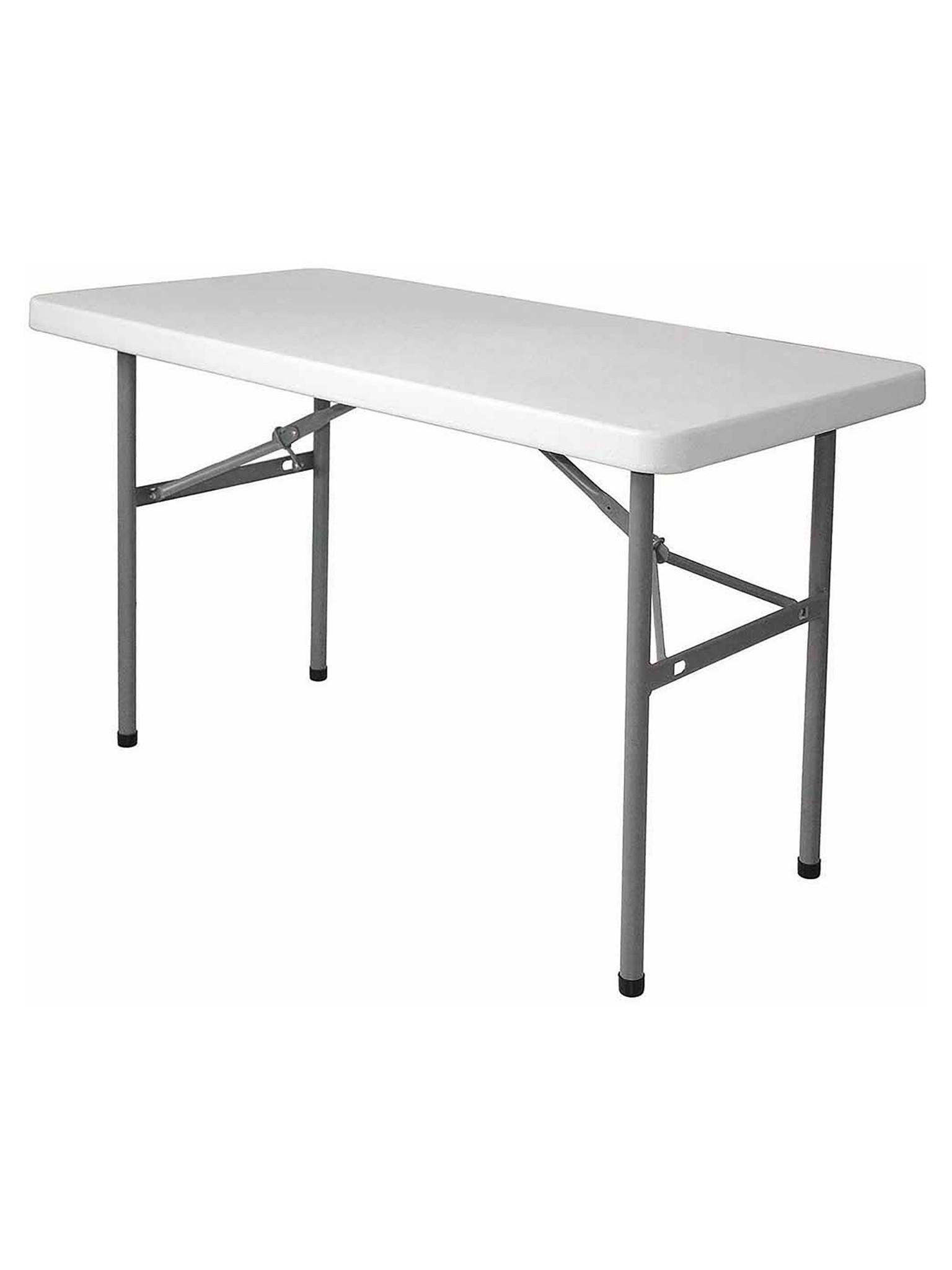 Inklapbare tafel - Rechthoek - H 74 x 122 x 61 CM - Promoline