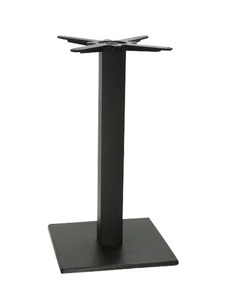 Vierkant Tafelonderstel - 40x40 cm - Zwart - Promoline