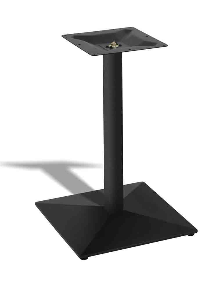Tafelonderstel / Tafelpoot - Zwart - Promoline