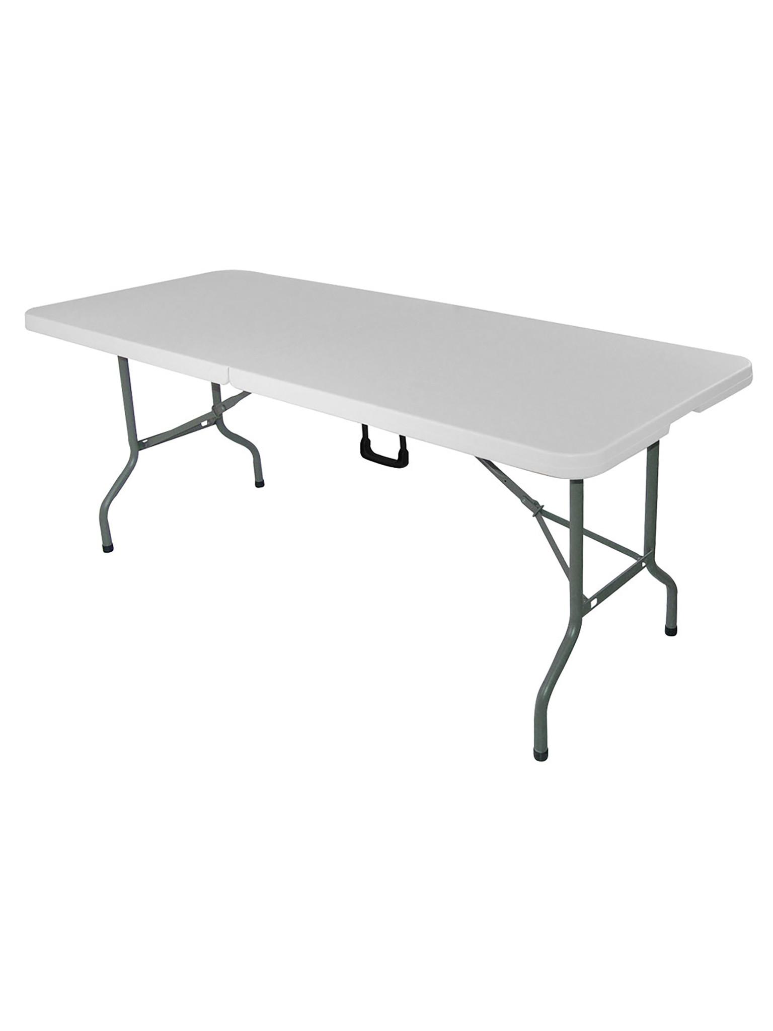 Inklapbare tafel - Rechthoek - H 74 x 184 x 75 Cm - Promoline